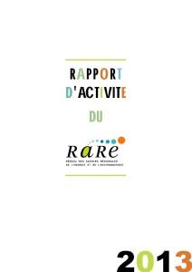 Rapport_activite_RARE_2013