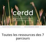 page du CERDD